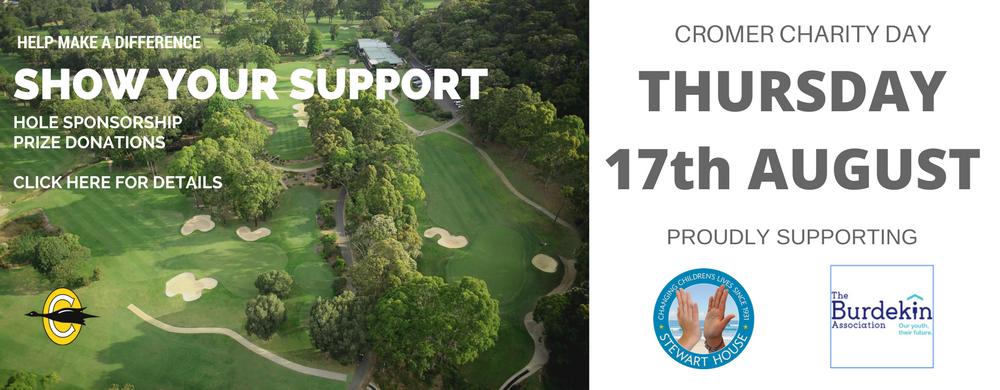 2017 Charity Golf Day Slider